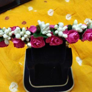 buy flower gajra for hair bun indian wedding