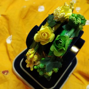 buy floral bengles for haldi and mehndi ceremony
