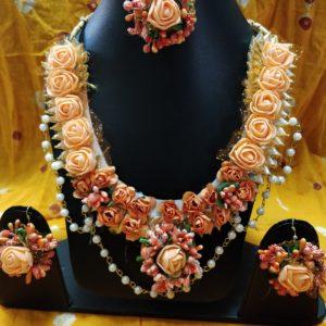 buy flower set onlinde for haldi and mehndi function