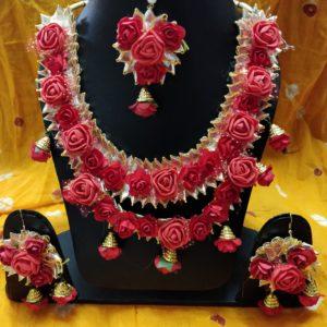 buy floral set online for haldi and mehndi function