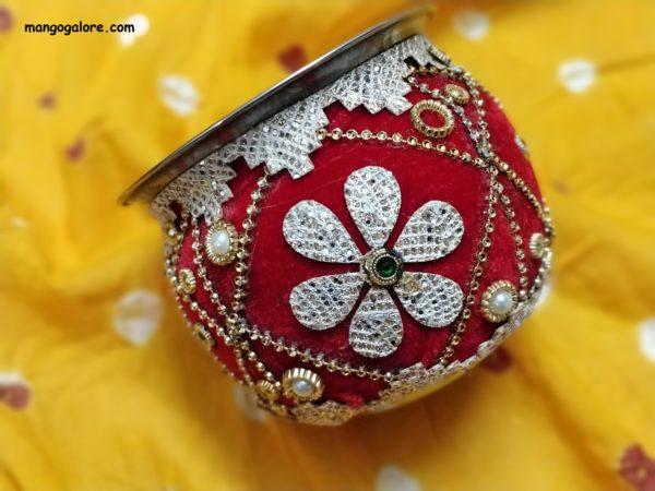 decorated kalash buy online