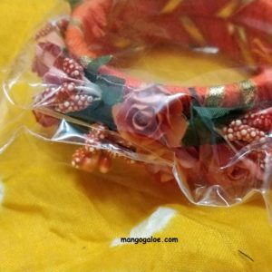 buy online floral bangle for mehndi and haldi ceremony