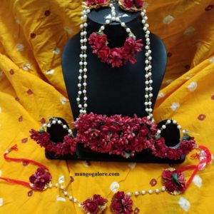 buy floral set for bridal for wedding