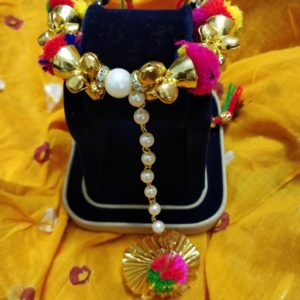 buy pompom haathphool foor haldi ceremony