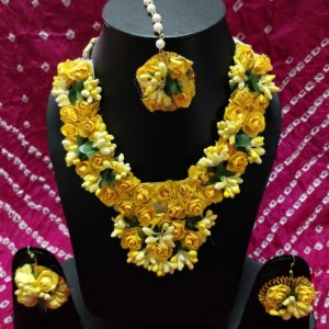 buy yellow floral set online