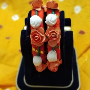 buy orange bangles online