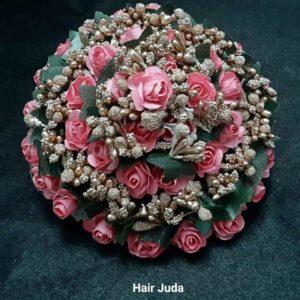 buy hair bun online for bride