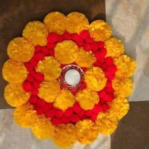 buy wedding rangoli mat online