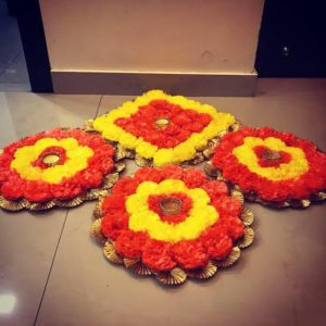 buy online rangoli mat for indian wedding