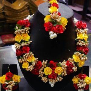 buy online choker floral set