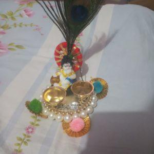 buy lil krishna platter online