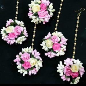 BUY PINK MAANGTIKKA FOR BRIDE