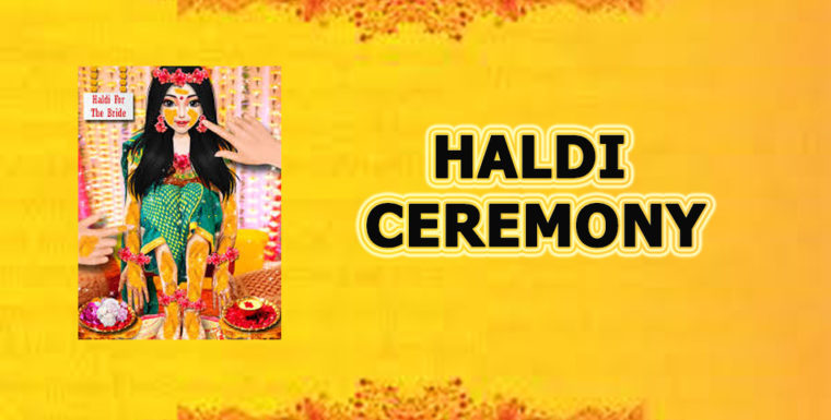 haldi ceremony image