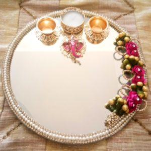 decorated pooja thali online