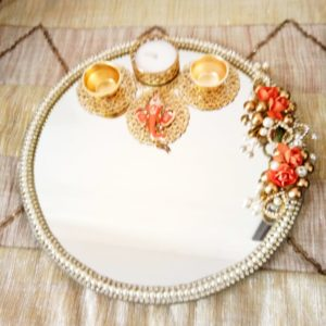 buy beautiful round thali
