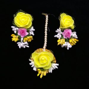 buy combo set floral jewellery
