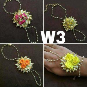 floral bracelete for hand