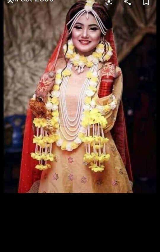 buy online bridal yellow jellery