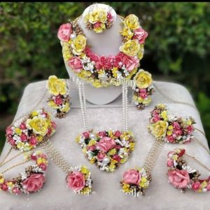 bridal floral jewellery set buy online