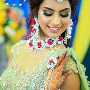 buy beautiful jewellery for bride floral