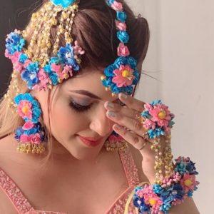 buy pink floral accessories online
